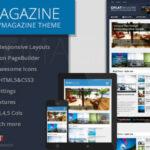 FlatMagazine v2.0 – Responsive News/Magazine Theme