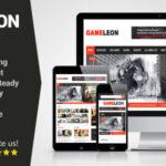 Gameleon v3.2 – WordPress Magazine & Arcade Theme