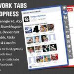 Codecanyon – Social Network Tabs For WordPress v1.7.2
